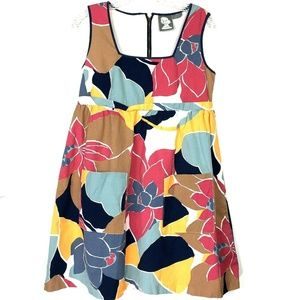 Anthropologie Floral Print Pocket Dress